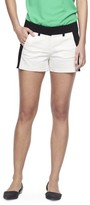 "Mossimo Women's 3.5"" Shorts - Black/Snow White"