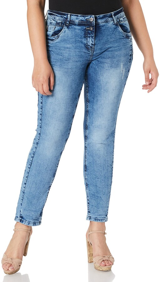 Thumbnail for your product : Cecil Women's 373788 Style Scarlett Loose Fit Jeans