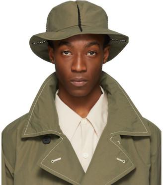 Issey Miyake Green Span Hat