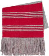 Topman Red And Grey Football Scarf