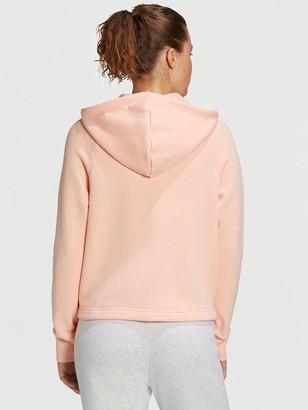 adidas Stacked Full Zip Hoodie - Coral