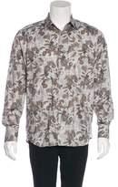 Neiman Marcus Paisley Print Shirt