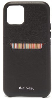 Paul Smith Striped Iphone 11 Pro Phone Case - Black