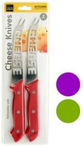 Bulk Buys Handy Helpers Household Tool Kitchen Cheese Knives Set - 4 Pack