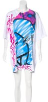 Faith Connexion Graffiti T-Shirt Dress