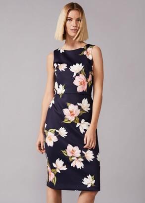 Phase Eight Amanda Floral Scuba Dress