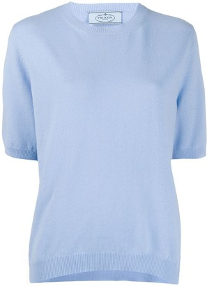 Prada relaxed knitted top