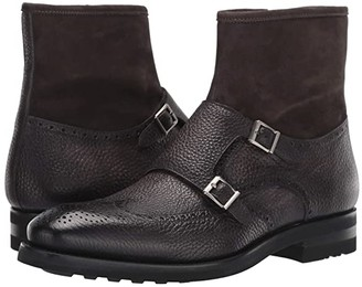 Magnanni Macario (Grey) Men's Shoes