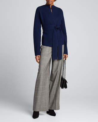 Theory Felted Wool-Cashmere Jacket with Belt