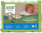 Seventh Generation Baby Overnight Diapers Stage 6 (4x17 CT)