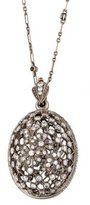 Kwiat 18K Diamond Latticed Egg Pendant Necklace
