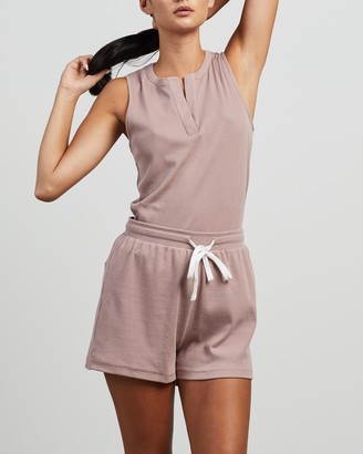 Elka Collective - Women's Purple Pyjamas - Trademark Pj Set - Size XS/S at The Iconic