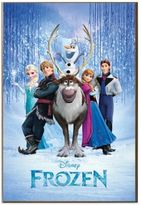 "Disney Frozen"" Movie Poster Wall Art"