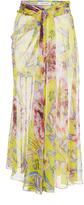 Prabal Gurung Moore Side Twist Front Skirt