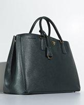 Prada Saffiano Gardner's Tote Bag, Emerald (Smeraldo)