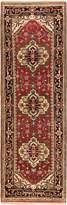 Ecarpetgallery eCarpet Gallery 108593 Hand-Knotted Serapi Heritage Geometric 2' x 7' 100% Wool Runner