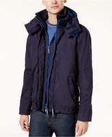 Superdry Men's Pop Zip Hood Arctic Windbreaker