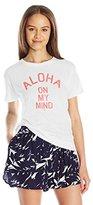 Billabong Women's Aloha on My Mind Boyfriend Graphic Tee