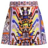 Emilio Pucci Printed Silk-Twill Shorts