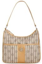 Giani Bernini Stripe Signature Hobo, Only at Macy's