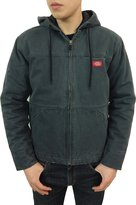 Dickies Men's Quilt Lined Rustic Twill Hooded Jacket (3XL, )