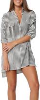 Faithfull The Brand Baia Stripe Shirt Dress