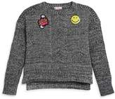 Design History Girls' Emoji Sweater
