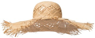 Etro Raffia hat