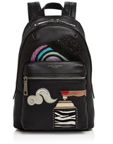 Marc Jacobs Julie Verhoeven Biker Patched Leather Backpack