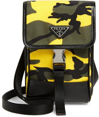 Prada Tessuto Camouflage Mini Crossbody Bag