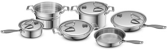 CookCraft™ Tri-Ply Stainless Steel 10-Piece Set