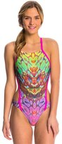 Speedo Rainbow Wings Printed One Back One Piece Swimsuit 8136654