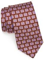 Ted Baker Men's Print Silk Tie