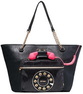 Betsey Johnson Hold Please Phone Tote