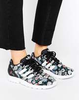 adidas ZX FLUX Performance Floral Print Sneakers