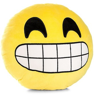 My Emoji Grinning Emoji Accent Cushion
