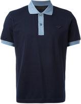 Prada contrast polo shirt - men - Cotton - S