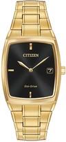 Citizen Men's Eco-Drive Tonneau Bracelet Watch, 44mm