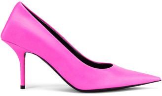 Balenciaga Square Knife Pumps in Pink | FWRD