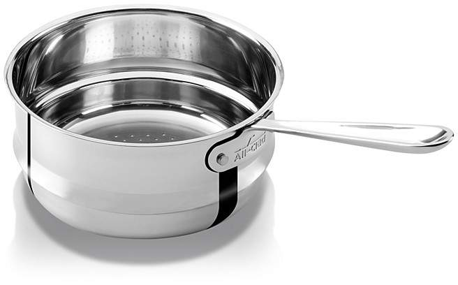 All-Clad Stainless Steel 3 Quart Universal Steamer Insert