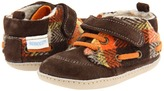 Robeez Buffalo Bobby Mini Shoez (Infant/Toddler) (Brown/Plaid) - Footwear