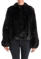 Patrizia Pepe Women's Black Acrylic Jacket.