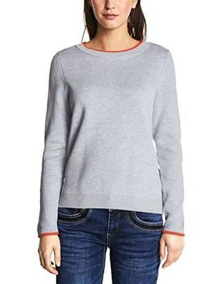 Street One Women's 300861 Jumper, (Cyber Grey Melange 10767), 14 (Size: )