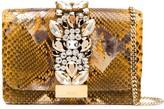 Gedebe Cliky snakeskin effect crossbody bag