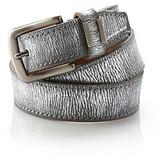 Calvin Klein Jeans Pewter Metallic Belt