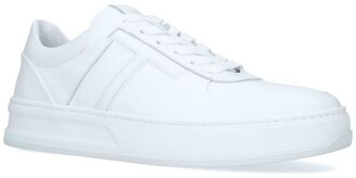 Tod's Leather Cassetta Platform Sneakers