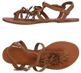 Pieces Toe post sandal