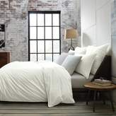 Kenneth Cole Escape Full/Queen Duvet Cover in White