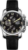 Ingersoll Men's Automatic Stainless Steel and Leather Casual Watch, Color: (Model: I03101)