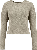 J Brand Ribbed cotton-blend sweater